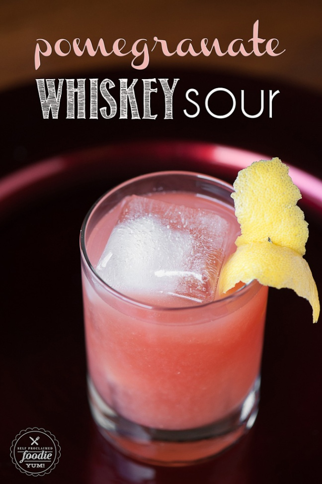 pomegranate-whiskey-sour
