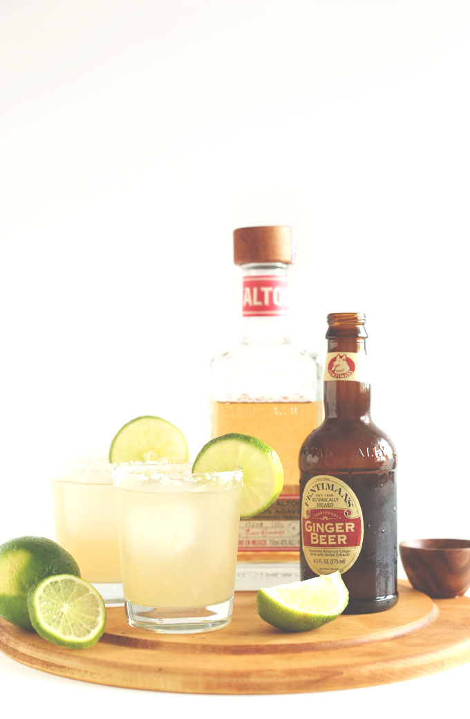Ginger beer margaritas thelocalbartender for Cocktail ginger beer