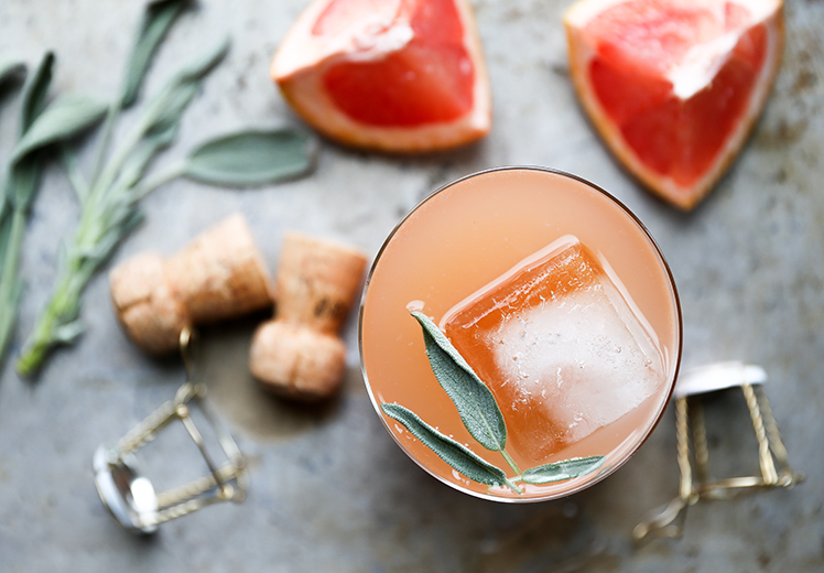 Grapefruit-Sage-Champagne-Cocktail-1