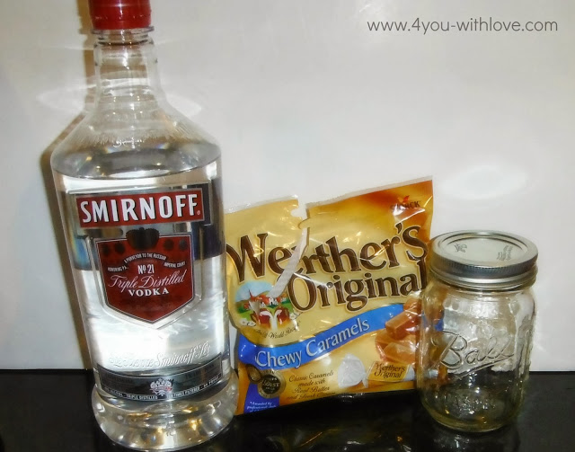 salted caramel vodka ingredients