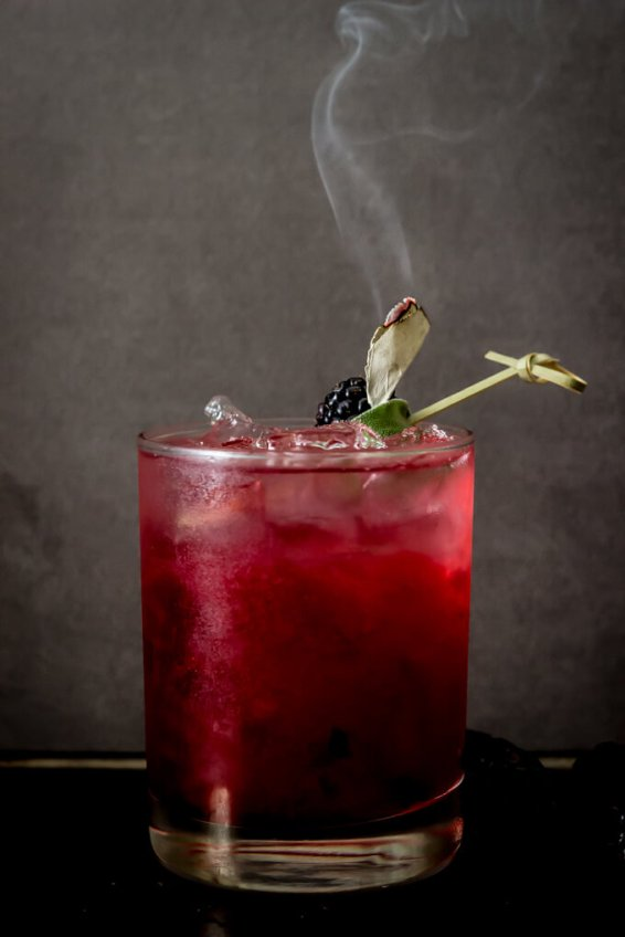 Blackberry-Sage-Margarita