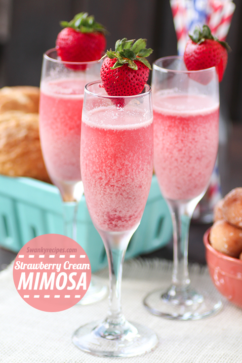 Strawberry-Cream-Mimosa
