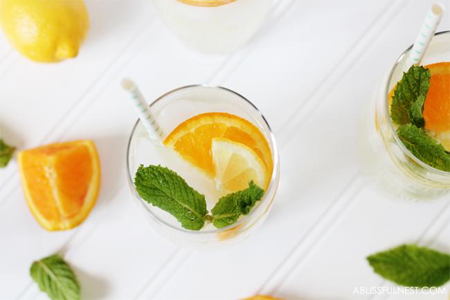 how to make lemonade punch